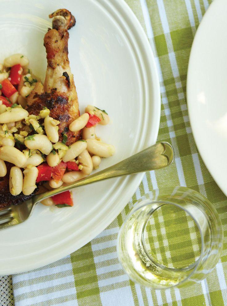 Recette de Ricardo de salade de haricots blancs