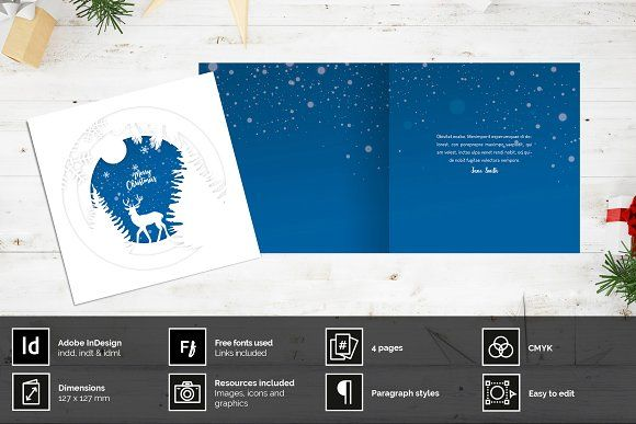 Papercut Christmas Card Christmas Photo Card Template Photo Card Template Christmas Tree Cards