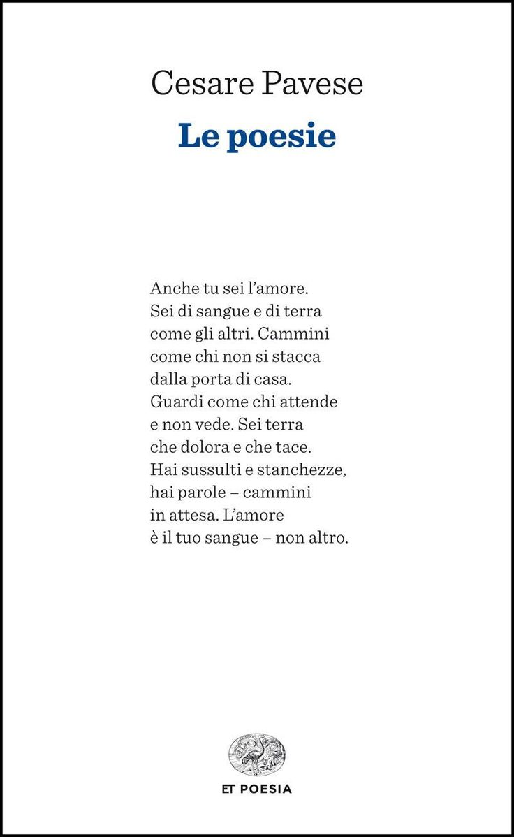 Le poesie (Einaudi tascabili. Poesia Vol. 500) eBook: Cesare Pavese: Amazon.it: Libri