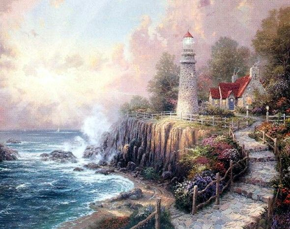 Lighthouses - The Light of peace