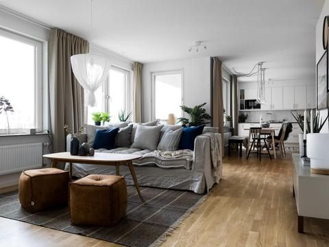 Open Home: A family apartment decorated in neutrals