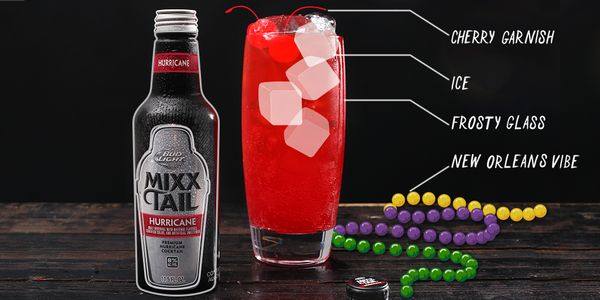 Cherry garnish & serve over ice