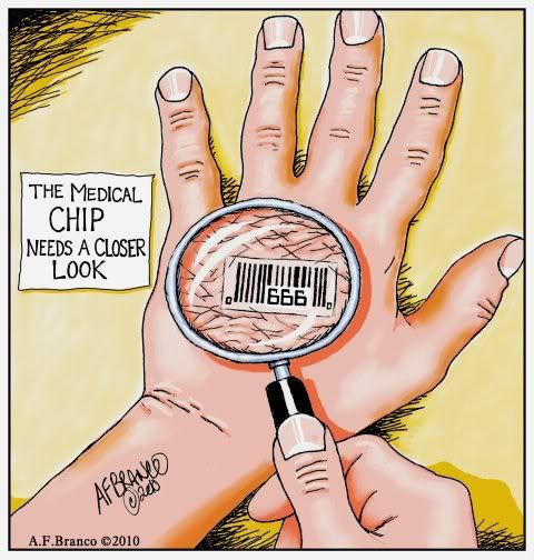 This is coming! Check page 1012 of the healthcare bill...RFID. These will be placed under the skin and will hold all of your medical information along with other information that the government deems important... i.e: financial info possibly?     THINK.....Mark of the Beast.......