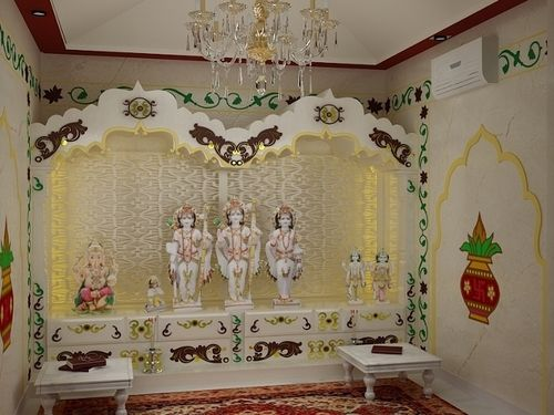 Puja Room Design. Home Mandir. Lamps. Doors. Vastu. Idols Placement. Part 79