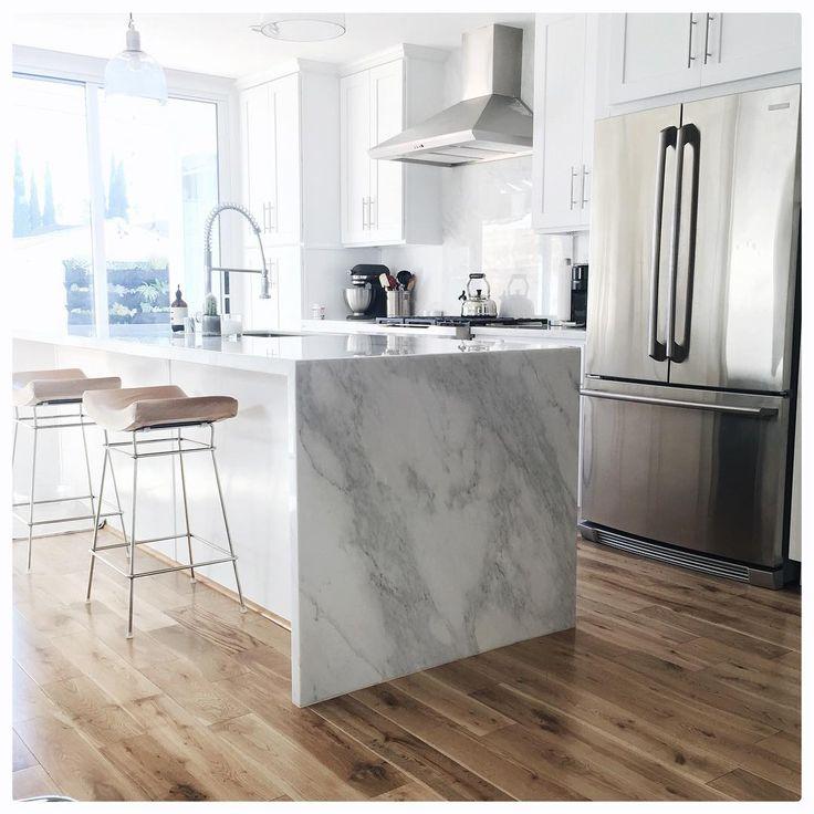 love the marbel! So fresh & so clean clean #homesweetdamsel