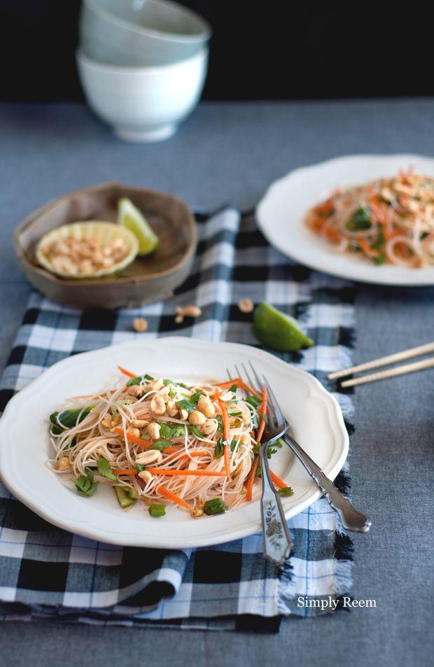 Rice Noodle Summer Salad