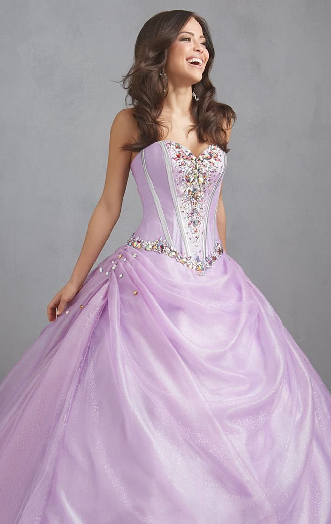 Vintage Quinceanera Dresses 2014 Vestidos De 15 Anos Lilac Beaded Sweetheart Debutante Gowns 15 year Debutante Dresses Ball Gown $169.00