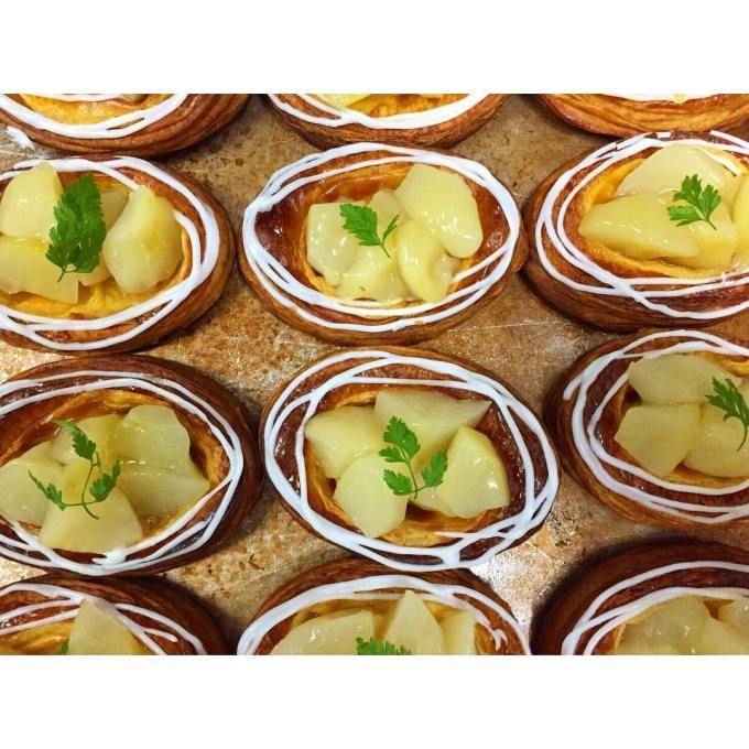 オパンのラフランスのデニッシュ(2016.11.08) | OPAN オパン|東京 笹塚のパン屋