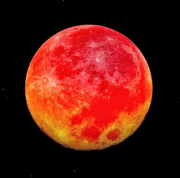 Blood Moon, night of 14-15 April, 2014. Tonight, the night of October 7-8, 2014 another blood moon will appear