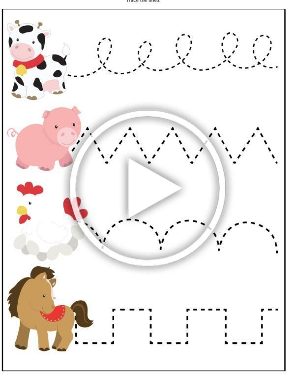 Farm Animal Activities For Kids These Printable Worksheets Are Great For Toddlers Pre In 2020 Animal Activities For Kids Diy Crafts For Kids Farm Animals Activities Farm animals pre k worksheets
