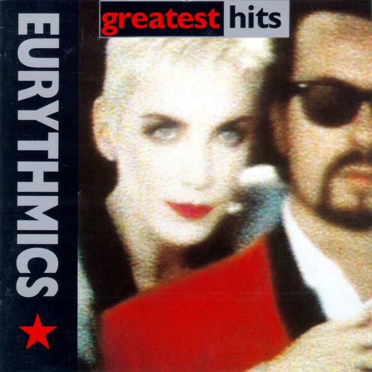 This is the greatest hits album full of hit after hit from the British music duo Eurythmics made up of Annie Lennox and David A Stewart. Description from mixtapecouture.blogspot.com. I searched for this on bing.com/images