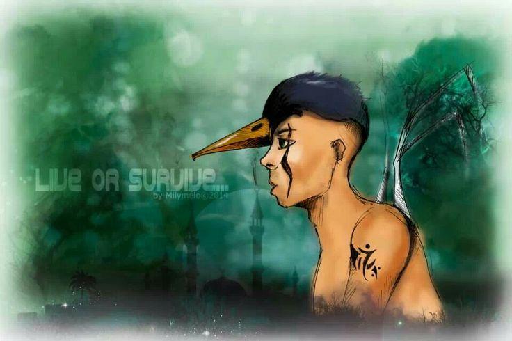 #illustration #fanart #boy