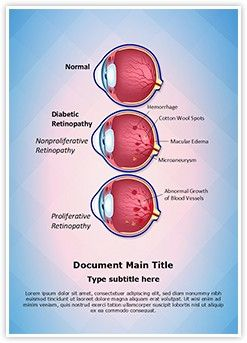 Retinopathy Diabetic Retinopathy MS Word Template is one of the best MS Word Templates by EditableTemplates.com. #EditableTemplates #Aneurysm #Macular Degeneration #Fovea #Edema #Health #Macular #Healthcare #Ophthalmology #Defect #Retinopathy Diabetic Retinopathy #Ocular #Abnormal #Illustration #Growth #Stages #Diabetic #Optician #Anatomy #Blindness #Medical #Care #Optometry #Leak #Diabetes #Medicine #Cross Section #Retina #Blood Vessels #Condition