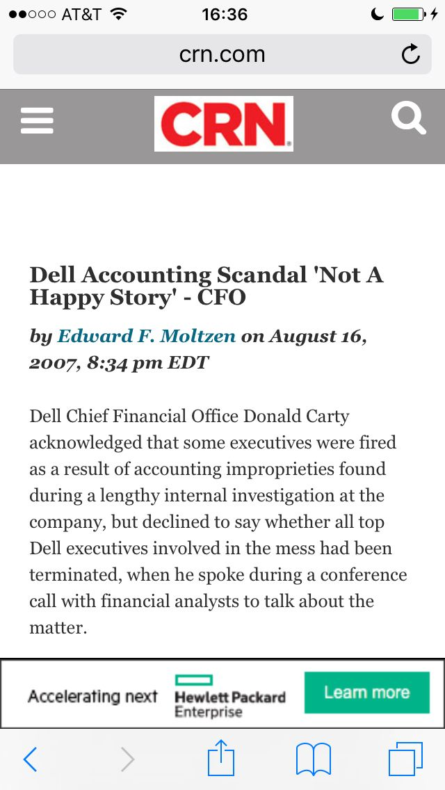 corporate accounting scandal The 10 worst corporate accounting scandals, from this website some fun facts: fortune magazine named enron america's most innovative company 6 years in a row prior.