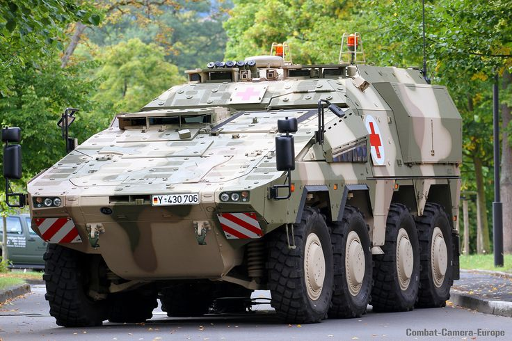 GTK-Boxer San / Bundeswehr   by PzBrig15