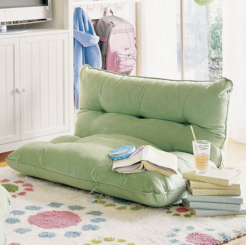 ~pottery barn lounge chair. (thank you, sam!) floor seating Pinterest Posts, Floor ...