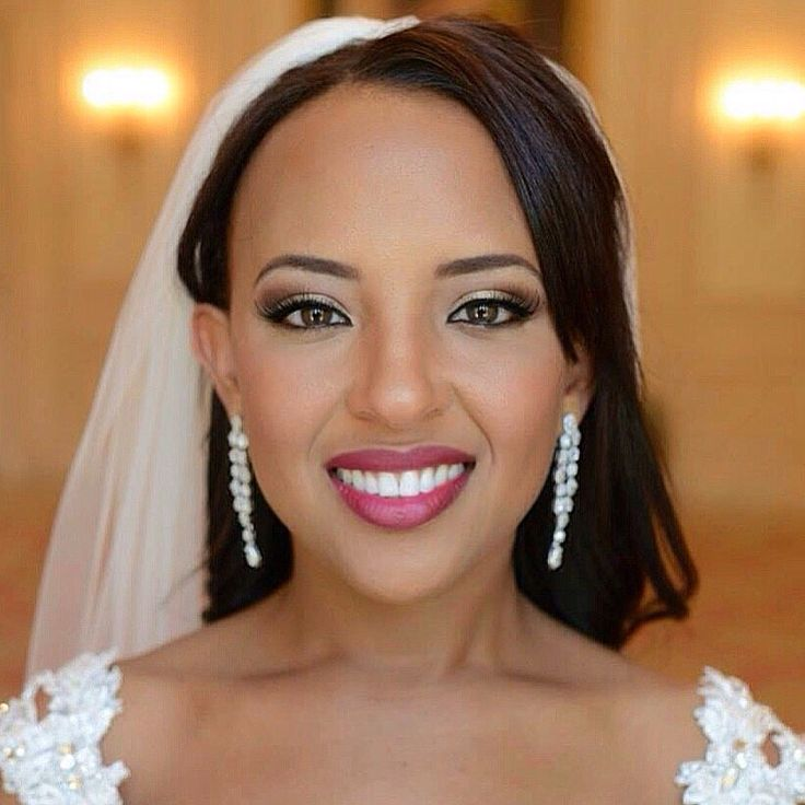 Best Makeup For Beautiful Black Brides Images On Pinterest - Ethiopian brides hairstyle