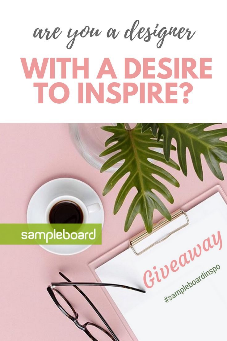 * Best SampleBoard of the Month GIVEAWAY! * We are looking for the best moodboard of the month. More information on how to enter the giveaway - click on the link.   This giveaway is in no way sponsored, endorsed or administered by, or associated with Pinterest.