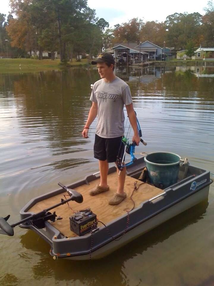 174 best boat 25 cheap images on pinterest boat for Mini crossbow fishing