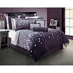 Lavender Dreams King-size 4-piece Comforter Set | Overstock.com Shopping - The Best Deals on Comforter Sets