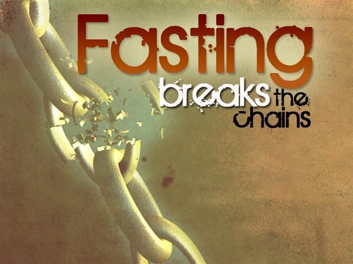 "Isaiah 58:6, ""Fasting unties the cords of the yoke."" Fasting and Prayer puts us in the best possible position for a spiritual breakthrough!  Weather for 12 hours, 18 hours, 24 hours, 2 days, or 3 days give the meal you would've eaten to the hungry -secretly."