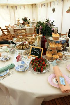 afternoon tea for wedding reception - Google Search