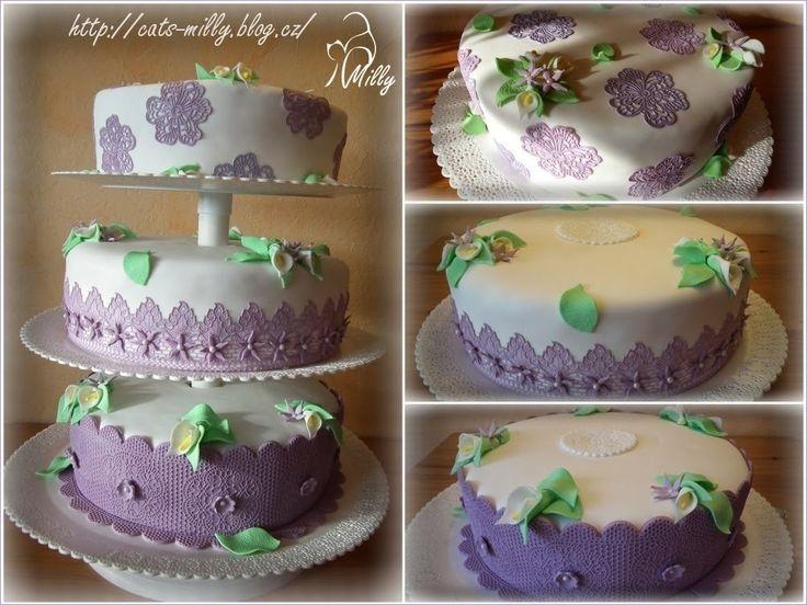 Souprava svatebních dortů