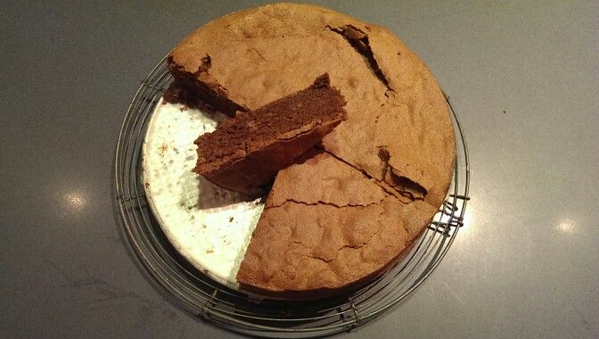 Velvety Chocolate - better than brownie - cake