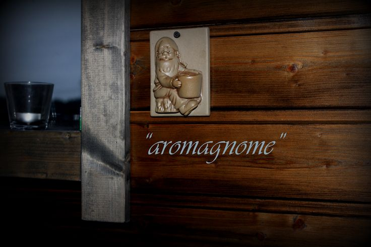 "Our ""saunagnome""..."