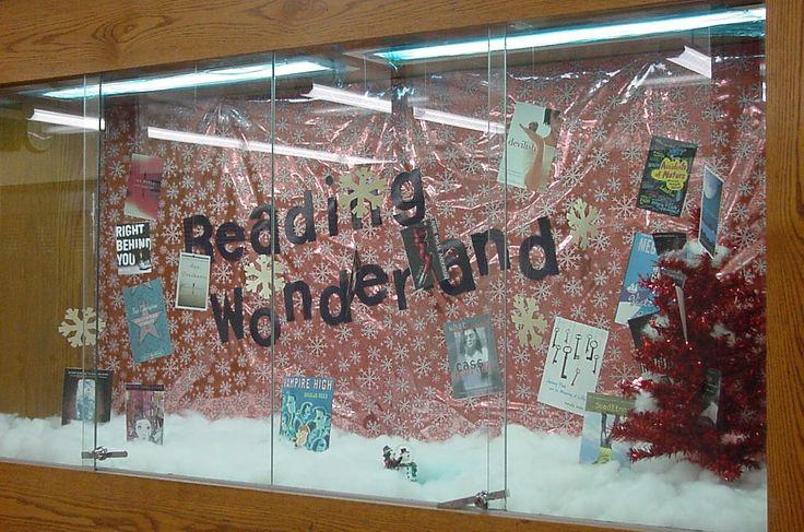 high school english bulletin board ideas   Reading wonderland   High school library bulletin board ideas