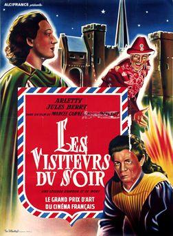 Artist Unknown poster: Les visiteurs du soir