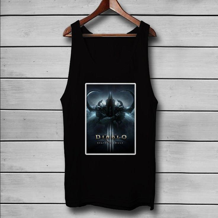Diablo 3 Reaper Of Souls Custom Tank Top T-Shirt Men and Woman