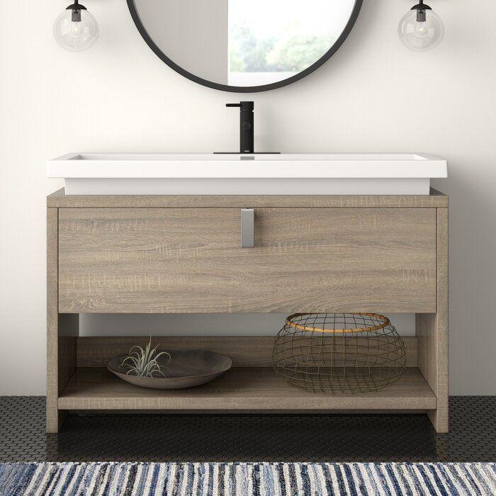Haycraft 47 Single Bathroom Vanity Set Single Bathroom Vanity Traditional Bathroom Modern Bathroom Vanity