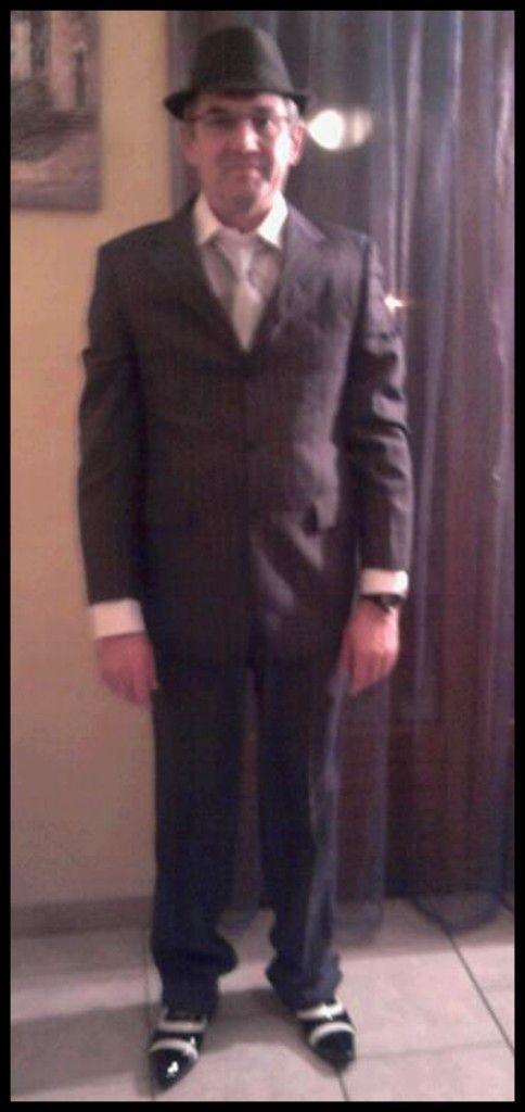 Dress code années 50 : le père de la mariée