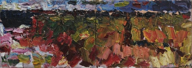 Iulie pe malul mării – Virgiliu Parghel   EliteArtGallery - galerie de artă
