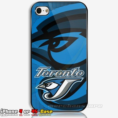Toronto Blue Jays MLB Logo iPhone 4 or 4S Case Cover