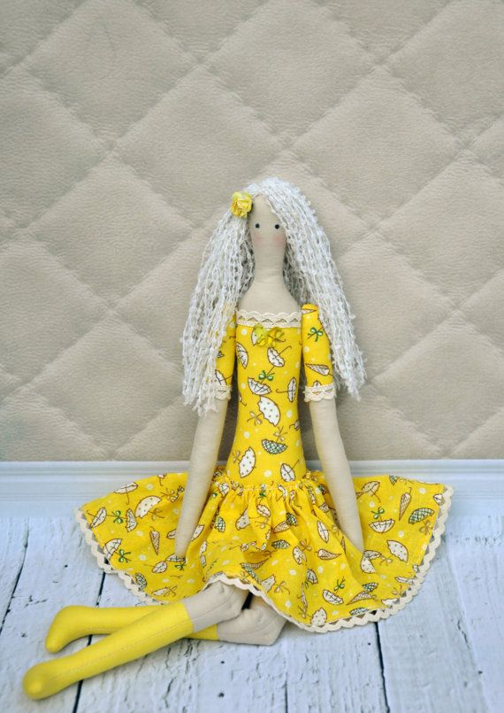 textil tildа de la muñeca muñeca de trapo hecha a por NilaDolss