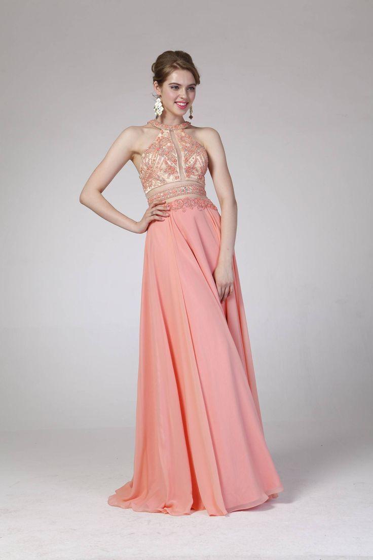 Increíble Dos Vestidos Tono De Prom Friso - Ideas de Vestido para La ...