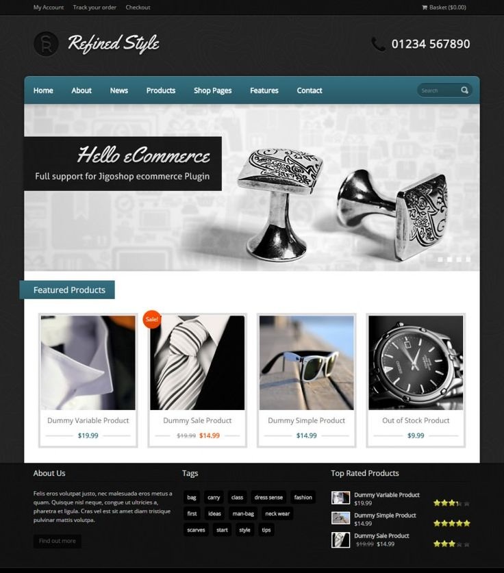 If you own an ecommerce business and want to boost your revenue, then you have to use the sleek and stylish retina ready ecommerce business jigo shop theme business template.