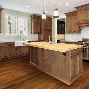 Ash hazelnut flooring by brand floors kitchen bathroom for Ash wood kitchen cabinets