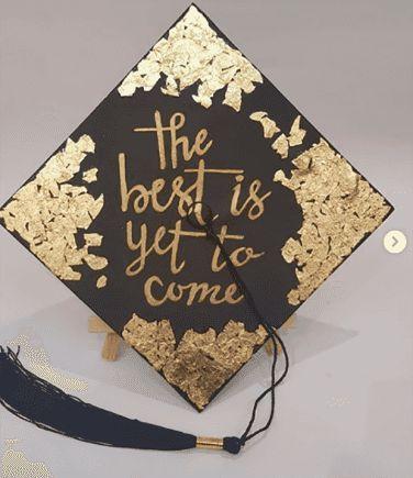 50 Best DIY Graduation Cap Designs, Inspirational Quotes And Decoration Ideas | YourTango   -  #DIYGraduationFood #DIYGraduationFreePrintables #DIYGra...