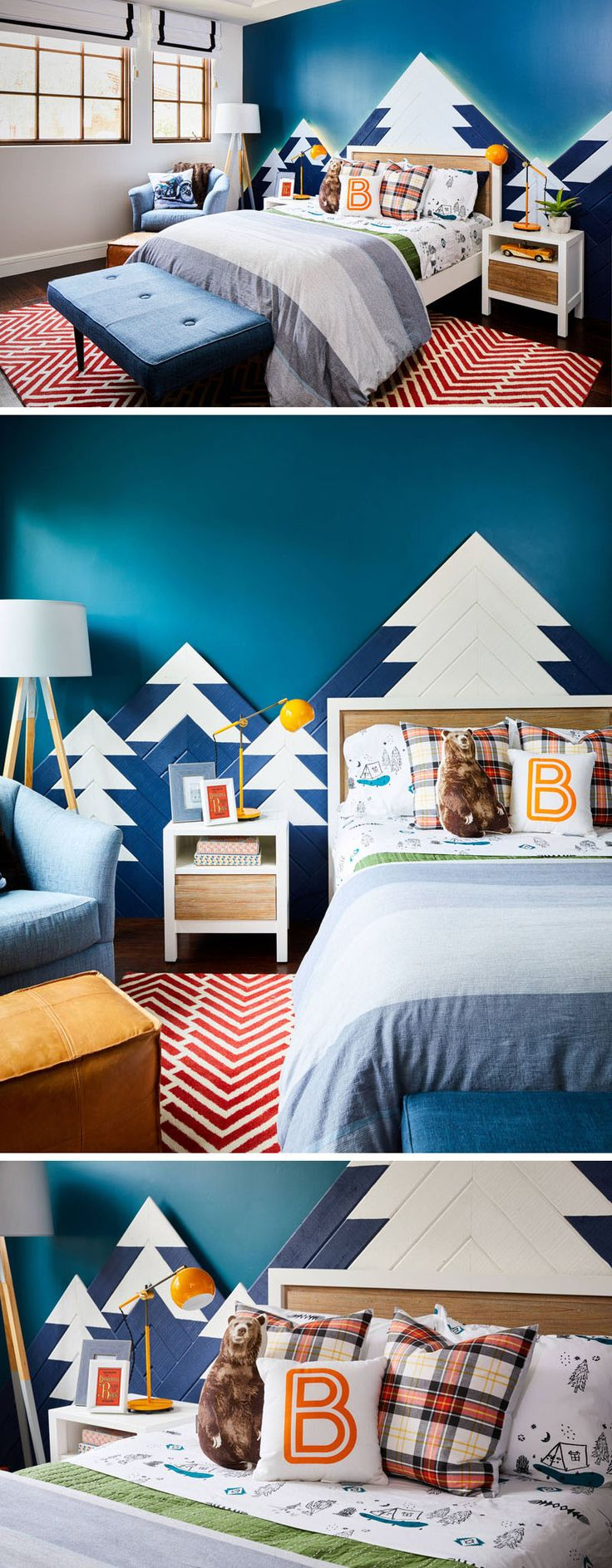 1023 best images about kid bedrooms on pinterest - Wall Design For Kids
