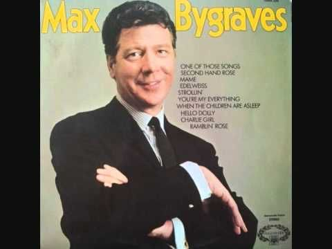 Max Bygraves : Second Hand Rose (+snitlys)