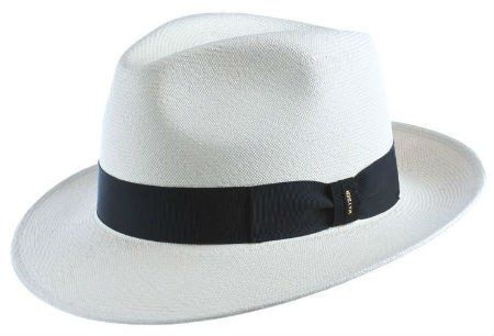 Mayser Monaco is that tightly handwoven Panama Straw. If you're looking for one of the best straw hats out there, this is it. Handwoven in Ecuador and blocked in Germany. This hat is perfect for anything outdoors during the summer heat. You will always look your best wearing the Mayser Monaco.
