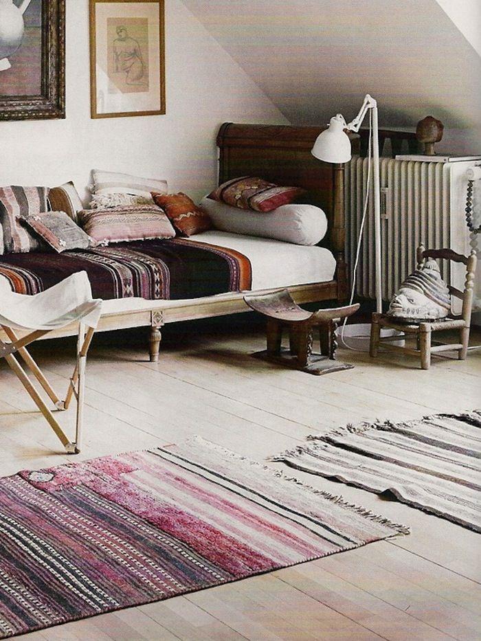 Muted peruvian textiles
