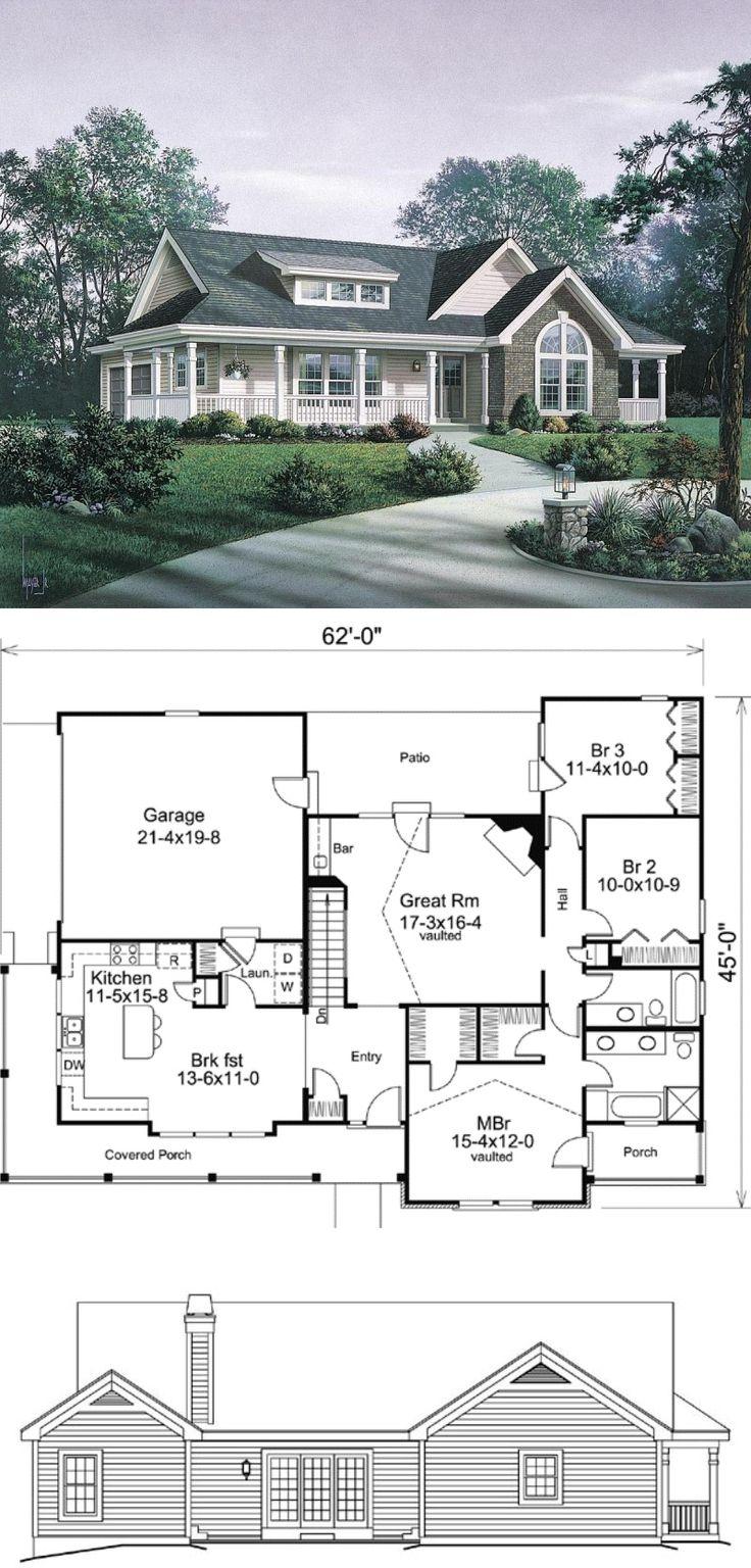 36 best house plans i like images on pinterest ranch house plans