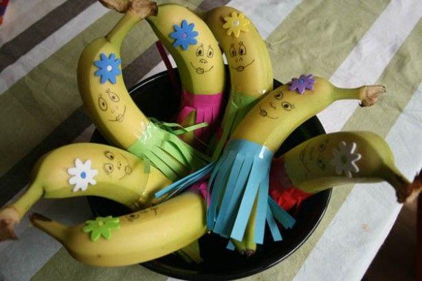 Gezonde traktatie; Leuke bananen
