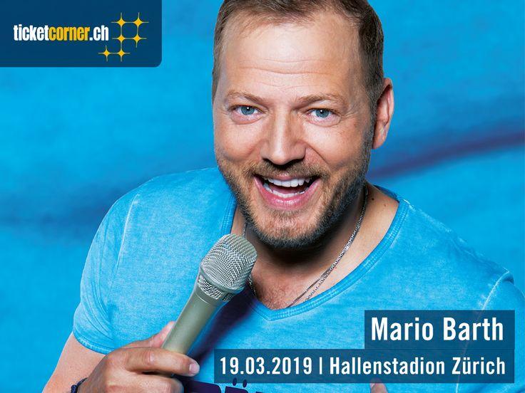 Deutschlands erfolgreichster Comedian, Mario Barth, kommt mit seinem neuen Programm «Männer sind faul, sagen die Frauen» am 29. März 2019 ins Hallenstadion Zürich.