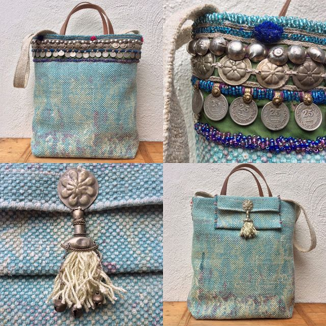 KussenvanPaula: Vloerkleedje wordt tas..... In een winkel zag ik ...