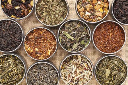 De teelt van groene thee Verschillende soorten groene thee